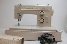 Vintage Kenmore Portable Sewing Machine 12 Stitch 13512 Case & Accessories Japan