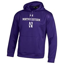 Northwestern Wildcats NCAA Men's Under Armour Fleece Hoodie, $74.99, NWT