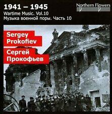 WARTIME MUSIC, VOL. 10: SERGEI PROKOFIEV NEW CD