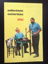 RARE catalogue Casterman Tintin 1963 TBE