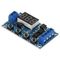 12V Delay Timer Control Switch Turn On/Off Relay Module+Digital LED Display