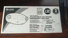 Lithonia Lighting ELM2L M12 LED Adjustable Emergency Sign, Standard Test | MVOLT