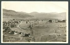 RPPC - Very old real photo postcard of Oliver, B.C., Canada
