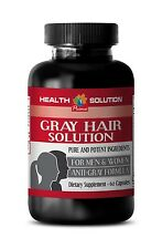 antioxidant hair pills - ANTI GRAY HAIR FORMULA 1350MG 1B - saw palmetto with zi