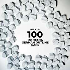 Montana German Outline Caps - 100 Pack