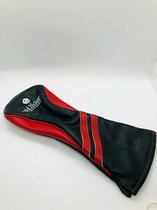 Old Hickory Golf Club Missouri Members Only Black Red Driver Leather Headcover