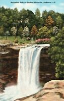 Vintage Postcard 1930's Noccalula Falls on Lookout Mountain Alabama AL