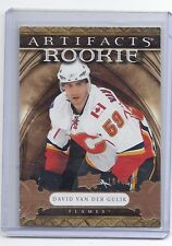 09-10 2009-10 ARTIFACTS DAVID VAN DER GULIK ROOKIE RC /999 183 CALGARY FLAMES