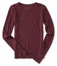 T-shirt, maglie e camicie da donna a manica lunga rosso taglia M