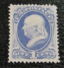 nystamps US Stamp # 156 Mint OG NH $225