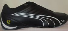 MEN'S PUMA FUTURE KART CAT SOFT FOAM BLACK-WHITE SCUDERIA FERRARI SHOES 7.5