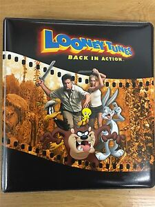 Looney Tunes Back In Action Official Inkworks Binder