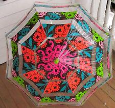 "Vera Bradley LOLA Umbrella 13065-145 NWT 36"" Bubble manual open"