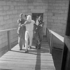 WWII Photo Japanese Soldier Being Led To Gallows  WW2 B&W World War Two / 2259