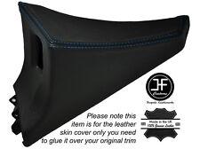 BLUE Stitch 1x Passeggero Porta Interruttore Pannello copertura della pelle si adatta TOYOTA SUPRA MK4