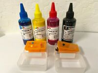 DIY Refill kit For Canon PG-245XL CL-246XL Ink Cartridge +4x100ml pigment ink
