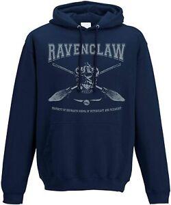 Hoodie Harry Potter Collegiate Ravenclaw Blue