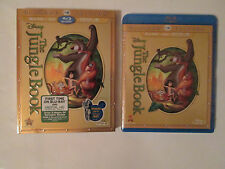 The Jungle Book (Blu-ray/DVD,+ Digital HD,2014,2-Disc Set,Diamond Edition)Disney