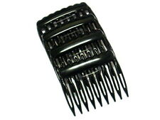 Ladies Classic Hair Combs Side Combs Pack Of 4 Combs 5cm Slide Combs Black