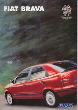 Fiat Brava 1.4 1.6 1.8 S SX ELX 1995-96 Original UK Sales Brochure No. A0452