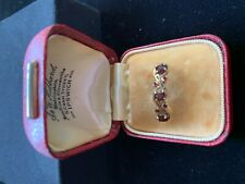 9kt Gold & Garnet Ring