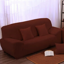 3-seater Protect Sofa Slipcover Couch Covers Pillowcase Non-slip 190-230cm NBTS