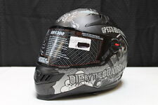 NEW SPEED AND STRENGTH SS1300 LIVE BY SWORD HELMET SIZE SMALL SML S