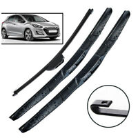 Front Rear Wiper Blades Fit For Hyundai Elantra GT 2012 2013 2014 2015 2016 2017