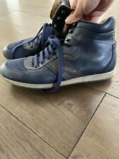 salvatore ferragamo Mens Shoes Sneakers High Tops Blue $795 Sz 11