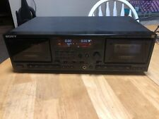 SONY HX PRO TC-WR87ES CASSETTE DECK AS IS FOR PARTS OR REPAIR