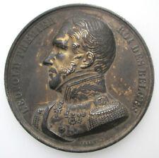 België Belgique Medaille Namur Dessin d'apres Nature 1847 Leopold I Braemt 50mm