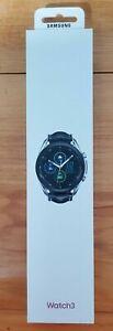 New Sealed Samsung Galaxy Watch3 45mm Stainless BT GPS Smartwatch Mystic Silver