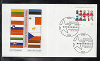 CS 02 ) Germany 2004 beautiful FDC - Enlargement of the European Union
