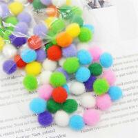 2520 Pcs Assorted Multicolor Pom Poms Craft Pompoms Bulk for DIY Decoration