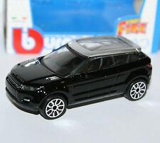 Burago - LAND ROVER LRX Concept 2010 (Evoque) Black - 'Street Fire' Model 1:43