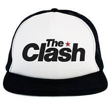 Chapeau La Clash,Camionneur Casquette,logo musique Rock Punk,Ska,Dub,Rockabilly