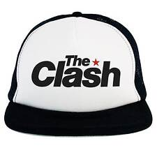 Cappello The Clash, Trucker Cap, logo musica Rock Punk, Ska, Dub, Rockabilly