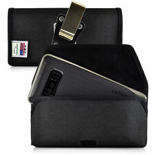 Samsung Note 9 and 8 Holster Metal Belt Clip Case Pouch Nylon Turtleback