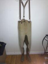 Waterproof Fishing & Hunting Waders, VINTAGE Size Medium, Shoe Size 8