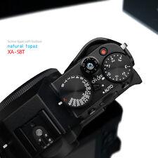 Gariz Soft Release Shutter Button XA-SBT Fuji XPRO1 X100T XE2 Topaz Blue