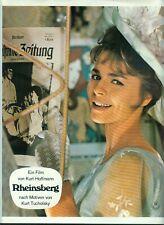 RHEINSBERG: 1 Aushangfoto (KURT HOFFMANN) KOMMÖDIE; Cornelia Froboess PORTRÄ -6-
