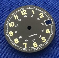 Unbranded Watch Dial Part -Night Glow Numbers- 26mm -Swiss Made- Automatic #X5
