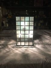 Maxim Lighting Exterior Beveled Leaded Glass Rustic Wall Mount Light Fixture