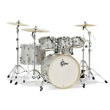 Gretsch Catalina Maple 7-piece Shell Pack- Silver Sparkle