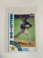 2019 Topps Update 1984 35th Anniversary Dwight Gooden New York Mets 84AS-DG