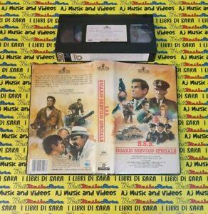 VHS film S.S.S. SICARIO SERVIZIO SPECIALE 1988 Rod Taylor MGM 13157(F256) no dvd
