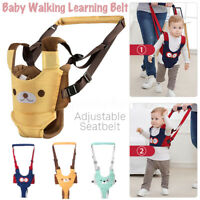 Toddler Infant Baby Walk Belt Safety Harness Strap Walking Learning Wrist  -)