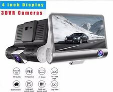4'' Dual Lens HD 1080P Car DVR Dash Cam Recorder Camera G-sensor *REAL 1020P HD*
