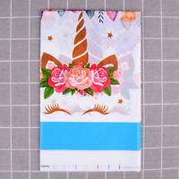 Einhorn kunststoff tischdecke einweg tischdecke für kindergeburtstag party cWR