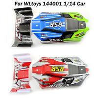 For WLtoys 144001 1/14 Remote Control RC Car Body Shell & Tailstock 144001-1335